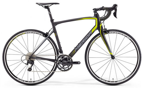 Merida Ride 4000 Carbon-Lima-Gris
